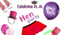 How To Put Together A Perfect Hen Party ? A hen party is the time to let your hair down and have fun with the girls. It's the time to get all those things together, that makes all the girls gush with laughter. Hen Party Accessories, Loot Bags, Let Your Hair Down, Hens Night, Down Hairstyles, Balloons, How To Memorize Things, Close Friends, Fun