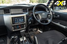 This Nissan Patrol has been equipped with an arsenal of weapons-grade modifications, including a military-spec diesel engine. Nissan Patrol Y61, Patrol Gr, Diesel Engine, Offroad, Dream Cars, 4x4, Military, Trucks, Camping