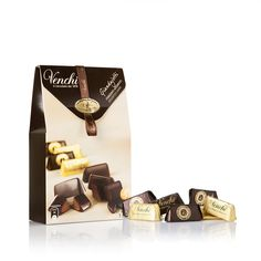 Extra Dark Giandujotti – Cardboard pack - Dark Chocolate | Venchi