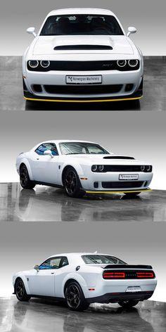 Dodge Muscle Cars, Custom Muscle Cars, Dodge Demon Challenger, Dodge Srt Demon, Charger Srt, Dodge Charger Hellcat, New Ferrari, Cool Sports Cars, Us Cars