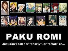 Seiyuu Paku Romi... Capable of voicing both male and female characters.. Edward Elric-FMA | Hanji-Attack on Titan