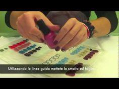 Come creare sticker nail patch per unghie fai da te! - YouTube