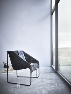 The IKEA VIKTIGT limited collection - including furniture, rugs, baskets and bowls - is all about craftmanship, energy and natural beauty, and the VIKTIGT armchair is no exception!