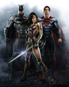 Batman Wonder Woman Superman available for your desktop, tablet, iphone, and android device, hdpictures is automatic to adjust with your device resolution. Batwoman, Batgirl, Batman Vs Superman, Batman Art, Dc Comics Art, Marvel Comics, Marvel Vs, Comic Books Art, Comic Art