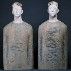 """ARON DEMETZ """"I need company"""" (Ausstellung Osnabrück Kunsthalle Dominikanerkirche  """"Kunstkörperlich - Körperkünstlich"""" (500×500)  """"Freundschaft  ..  existenzielle Einsamkeit. , wenn man eine Person sucht, die dir beistehen sollte, einen wahren Freund, aber dann traut man niemandem wirklich. Man möchte eine Person, die einem sehr ähnlich ist, vielleicht sucht man ein zweites Ich,,,"""" (Dialog Alessandro Riva +Aron Demetz http://www.arondemetz.it/contents/files/if_2004_riva_eng.pdf"""
