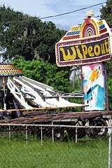 1/2 hours south of Tamp is Gibsonton - winter home for a large population of circus and carnival sideshow performers for nearly 70 years