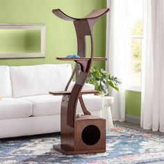Are Cats Nocturnal Large Cat Tree, Cat Stairs, Cat Perch, Cat Towers, Cat Scratching Post, Cat Condo, Pet Furniture, Round House