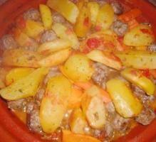 Recette - Tajine de boulettes Kefta - Notée 5/5 par les internautes