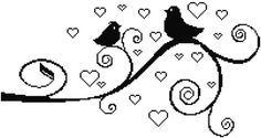 Birds Love Cross Stitch Pattern Modern, Valentines Cross Stitch, Birds Cross Stitch, Pattern PDF, Easy Cross Stitch, Modern Cross Stitch Pattern  This PDF counted cross stitch pattern available for instant download. Floss: DMC Fabric: AIDA 14-count ( other AIDA Fabric Counts may be used, the finished pattern will be different in size) Number of Colors: 1 or 2 Full Cross stitches only Size: 200 x 105 stitches( 14.29 x 7.50 on 14 ct Aida)   There is no background to be stitched. You can play…