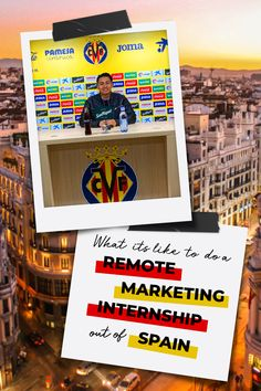 Go behind the scenes with Aaron on his remote Marketing & Communications internship with a Spanish football club Marketing Communications, Career Goals, What Is Like, Easy Access, Flexibility, Opportunity, Remote, Spain, Soccer