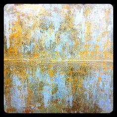 """52x52 """"Golden Divide"""", Melissa Key- beautiful"""
