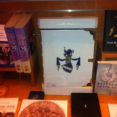 Bosnian kingdom book special edition ... 750 euros to buy in book stores . This one store is in Sarajevo