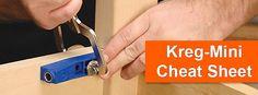 Kreg-Mini Cheat Sheet