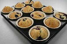 Blåbær muffins fedtfattige med billede Endnu en opskrift fra Alletiders Kogebog blandt tusindevis opskrifter.
