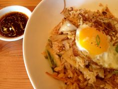 Kim Chi Fried Rice @ Mecha Noodle Bar, Fairfield, CT