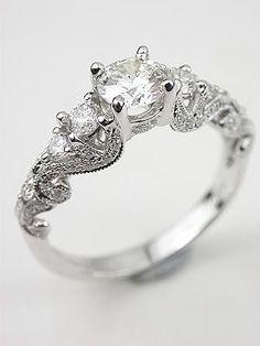 (66) vintage wedding ring | Tumblr