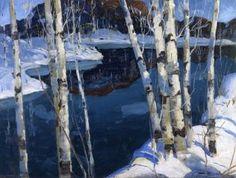 Winter Blue  Jonas Lie - 1913