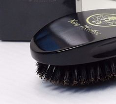 King Monkey Products - Model#1776 - 100% Natural Boar Bristle Unisex Hair Brush #KingMonkeyProducts