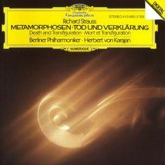 """Richard Strauss """"METAMORPHOSEN"""" """"TOD UND VERKLARUNG""""          Herbert von Karajan / Berlin Philharmonic Orchestra    1983"""