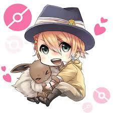 Este es uno de los protagonistas del anime uta no prince, Syo, que lindo con el conejito