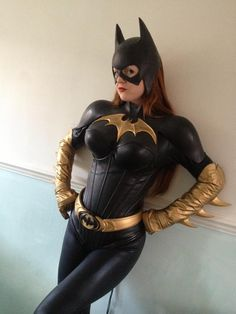 Batgirl cosplay. One of my first crushes