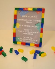 """Jake wants a """"Lego"""" room, and I'm looking for decorating ideas that don't involve painting legos all over his room. Liking this!"""
