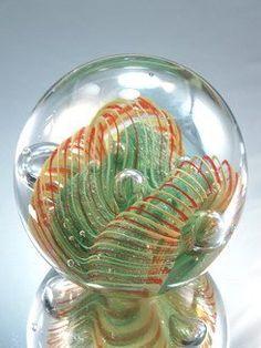 Murano Hand Blown Glass Art Crystal Rainbow Paperweight PP-0146: http://www.amazon.com/Murano-Crystal-Rainbow-Paperweight-PP-0146/dp/B001P4V1DA/?tag=greavidesto05-20