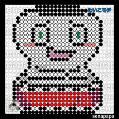 yokai watch perler template