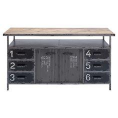 Bucknell Storage Bench. 56'' W x 30'' H x 16'' D Metal. $429.99.