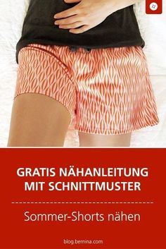 Pattern and pattern for summer shorts to sew on - Nähen - Freebook Damen - Shorts Sewing Patterns Free, Free Sewing, Free Pattern, Fashion Moda, Diy Fashion, Womens Fashion, Fashion Clothes, Fashion Ideas, Fashion Dresses