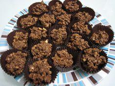 Hazelnut chocolates-Bombones de avellana