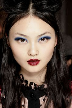 Anna Sui by Pat McGrath aw2017