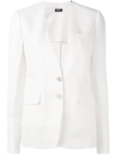 ¡Consigue este tipo de americana de Jil Sander Navy ahora! Haz clic para ver los detalles. Envíos gratis a toda España. Jil Sander Navy - Two Button Blazer - Women - Linen/Flax/Polyamide/Cupro/Rayon - 40: White linen blend two button blazer from Jil Sander Navy. Size: 40. Gender: Female. Material: Linen/Flax/Polyamide/Cupro/Rayon. (americana, americana, blazer, americanas, blezer, frock-coat, jackett, blazers, veste de costume, americana, blazers)