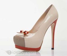 Fashion Platform Stiletto Heel Round-toe Women's Shoes