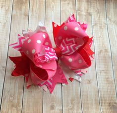 Hair bows for Girls Children Toddlers by PoshPrincessBows1 on Etsy, $12.99
