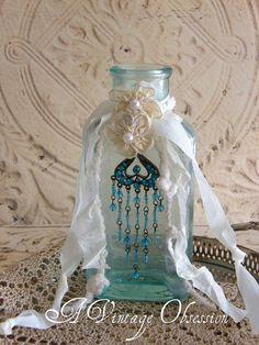 Vintage Decorated Bottle | Flickr - Photo Sharing!