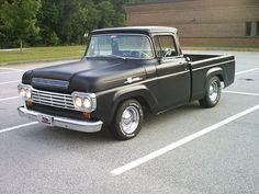 1959 Front by 1957 58 59 60 Ford F-100 F 100 Pickup Trucks, via Flickr