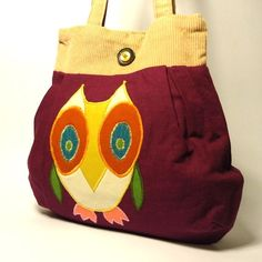 Very cute owl on this bag