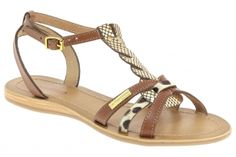 Nu-pieds en cuir, prix 58,95 € http://www.chausty.com/les-tropeziennes-par-m-belarbi-nu-pieds-style-ville-chaussures-femme-marron/a36798/