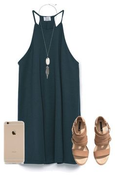 time has a wonderful way of showing what really matters by mlainezrubi on Polyvore featuring Zara, H&M and Kendra Scott