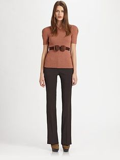 Burberry Prorsum - Bow Sweater - Saks.com