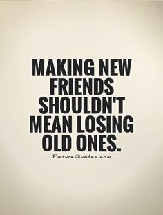 Why on earth would old friends get jealous of new ones?