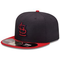 1f8ef10074b New Era St. Louis Cardinals 2013 MLB World Series Bound Diamond Era  On-Field Fitted Performance Hat - Navy Blue Red is available now at  FansEdge.