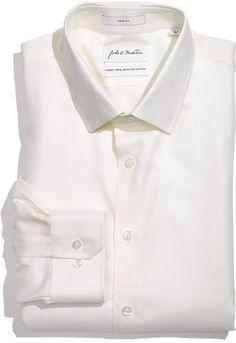 #John W. Nordstrom #Tops #John #Nordstrom #Trim #Dress #Shirt #Ecru #34/35 John W. Nordstrom Trim Fit Dress Shirt Ecru 18 - 34/35 http://www.seapai.com/product.aspx?PID=5455661