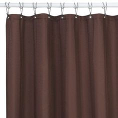 Buy Westerly Mocha 72-Inch x 84-Inch Fabric Shower Curtain from Bed Bath & Beyond