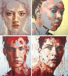 Faces by Jimmy Law