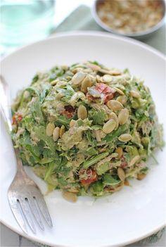OMG - This sounds soooo delish!!!  Guacamole Tuna Salad / Bev Cooks