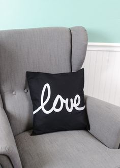 Love pillow using your Silhouette | Jeana Goodwin for Silhouette