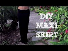 ▶ DIY No-Sew Maxi Skirt (from scratch!) - YouTube NOW I CAN MAKE A MERMAID SKIRT WITHOUT A SEWING MACHINE!! READY FOR HALLOWEEN!!!