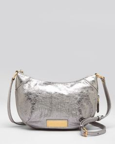 Metallic crossbody - an instant outfit pick-me-up.